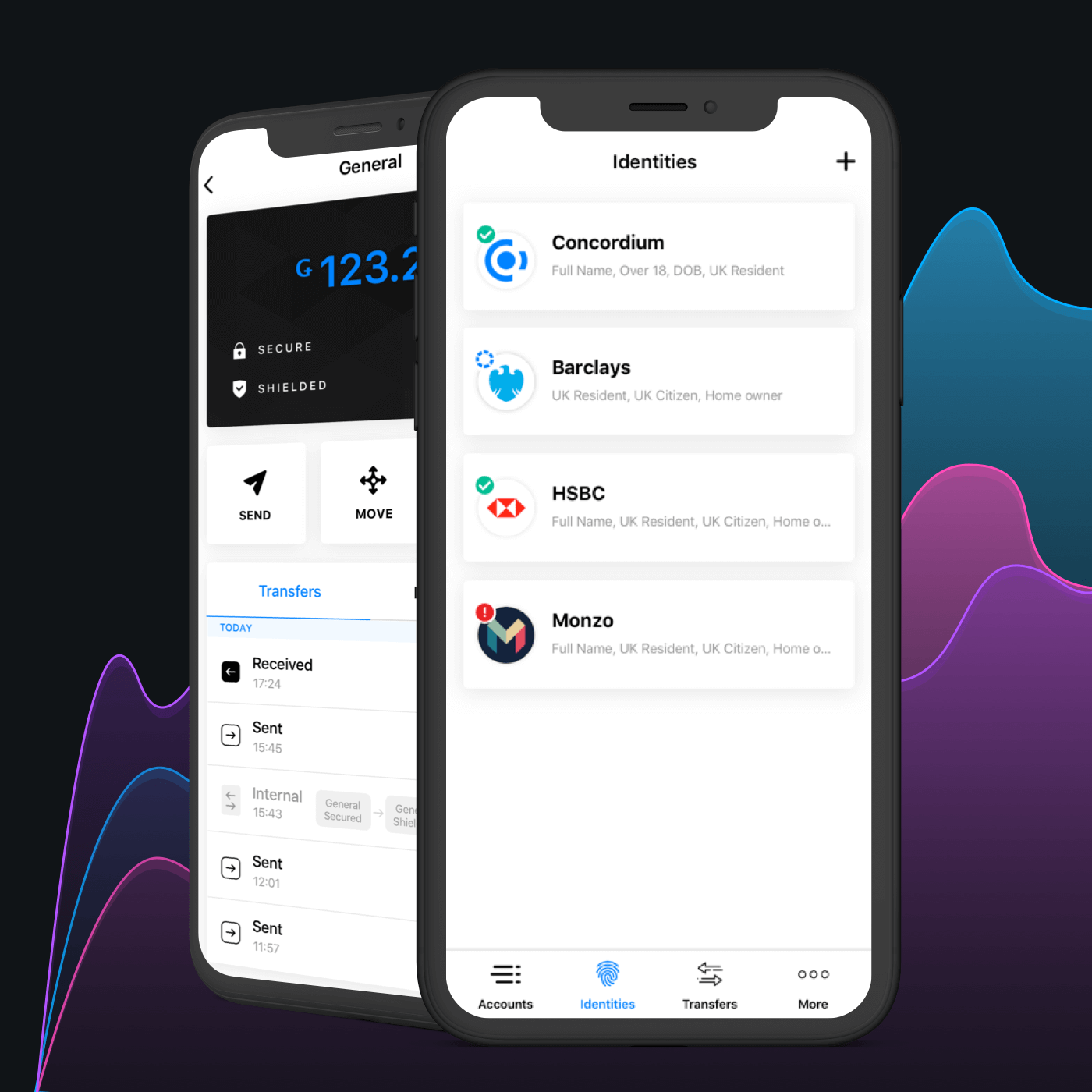 Mobile App Design for Concordium